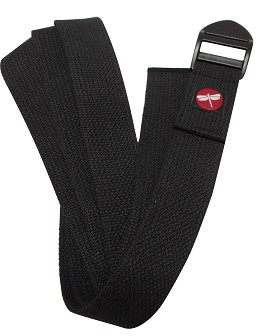 Dragonfly 6' Cinch Buckle Cotton Yoga Strap
