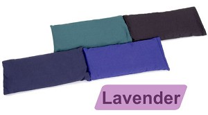 Small Cotton Eye Pillow - Lavender Scented