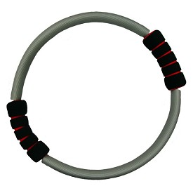 Pilates Toning Ring With Textured Handle Grips
