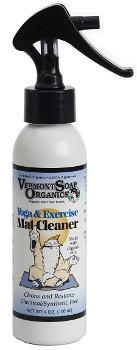 Organic Yoga and Exercise Mat Cleaner Spray - 4 oz