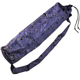 Printed Silk Yoga Mat Bag