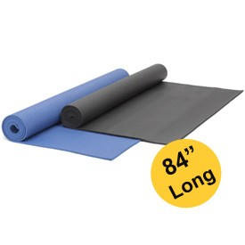 YOGA Accessories 1/4'' Extra Thick Deluxe Yoga Mat - Extra Long