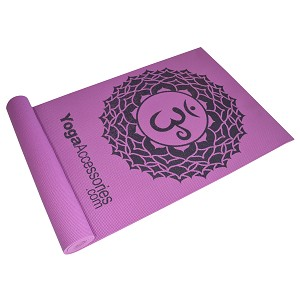 YOGA Accessories Chakra Printed Yoga Mat
