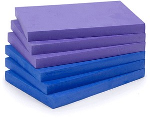 1'' Foam Yoga Block