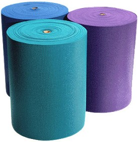 YOGA Accessories 1/4'' Extra Thick Deluxe Yoga Mat Roll - 103 feet