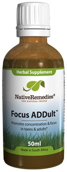 Focus ADDult for Concentration in Teens and Adults (50ml)