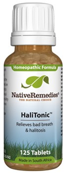 HaliTonic Tissue Salts for Halitosis and Bad Breath (125 Tablets)