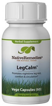 LegCalm for Restless Leg Syndrome and Periodic Limb Movement (60 Caps)