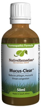 Mucus-Clear for Phlegm, Mucus and Throat Congestion (50ml)