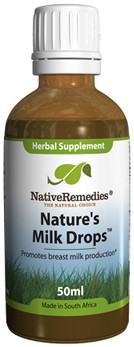 Nature's Milk Drops for Breast Milk Production (50ml)