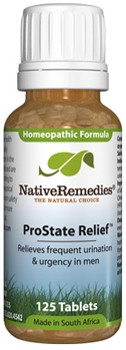 Pro-State Relief to Temporarily Relieve Urgency, Frequent Urination in Men (125 Tablets)