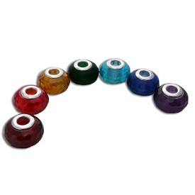 Faceted Chakra Bead Set/7