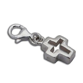 Charmas Cut-out Cross Charm