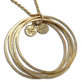 Ganesh OM Bangles Necklace Recycled Brass