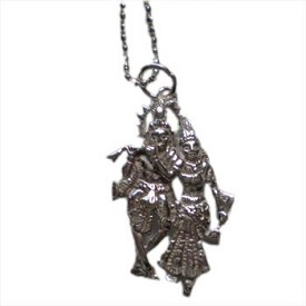 Krishna Radha Necklace - Absolute Truth and Divine Love