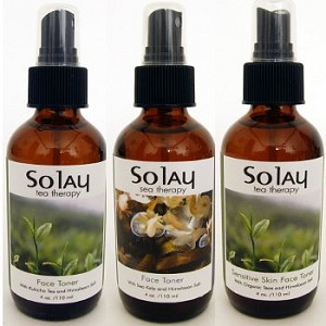 Solay Tea Therapy Face Toner with Himalayan Salt - 4 oz