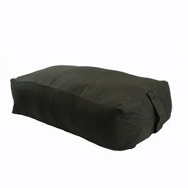 Max Support Deluxe Rectangular Cotton Yoga Bolster