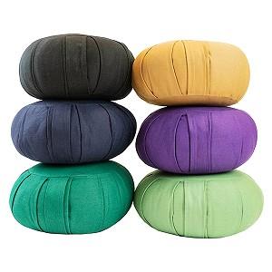 Round Cotton Zafu Meditation Cushion