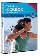 Gaiam Cardio Burn Kickbox - DVD