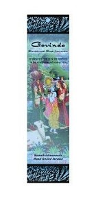 Prabhuji's Gifts Govinda Stick Incense - Sandalwood, Sage, and Lavender