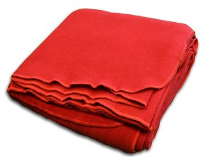 Polyester Fleece Blanket by YOGA Accessories