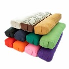 Pranayama Cotton Yoga Bolster - Buy One Get One Free