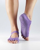 ToeSox Bella Grip Socks - Half Toe