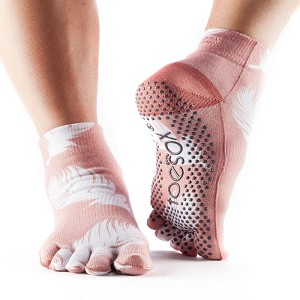 ToeSox Ankle Grip Socks - Full Toe