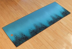 Yogitoes Vintage Peacock Yoga Mat Towel Collection