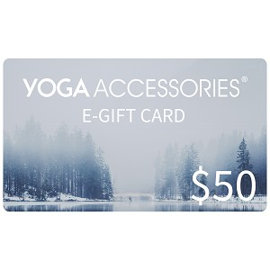 $50 E-Gift Card from YOGA Accessories